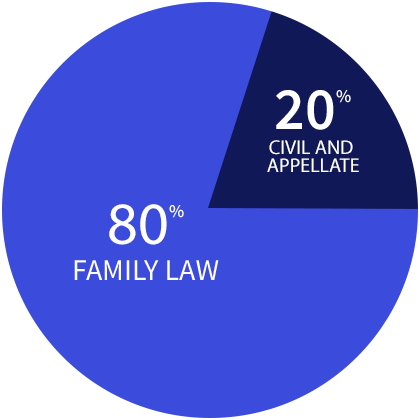 Family Law vs. Civil and Appellate Law